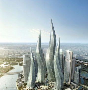 Dubai Towers - Башни в форме горящих свечей в Дубаи