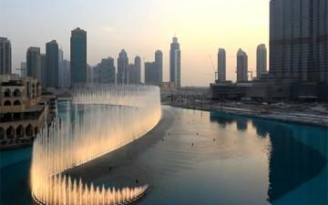 Поющий фонтан в Дубае или Dubai Fountain: это стоит увидеть своими глазами (видео)