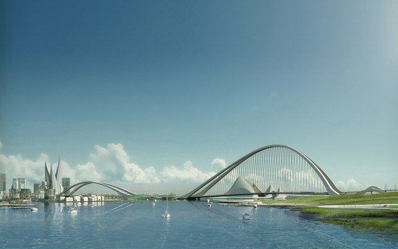 Мост Sheikh Rashid в Дубае