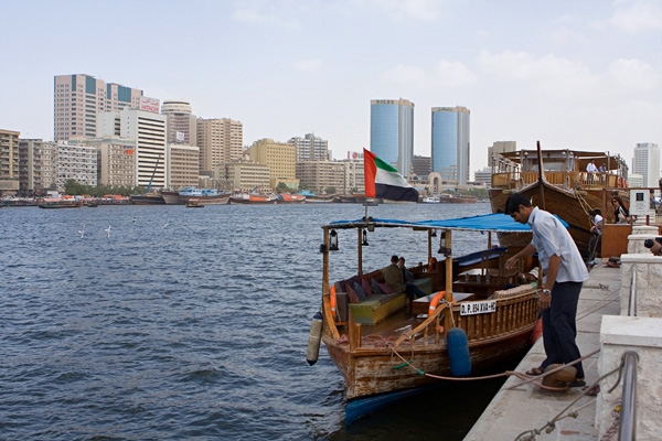 Дубайский залив (Хор-Дубай)