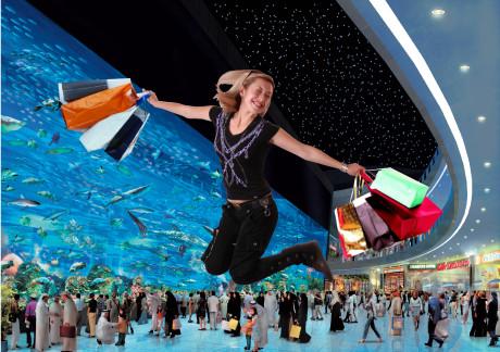 Шопинг-моллы в Дубаи (ОАЭ)
