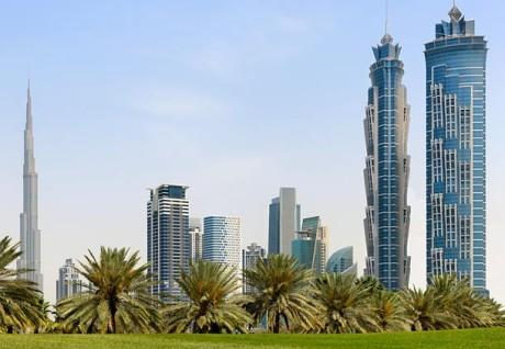 Самый высокий отель в мире JW Marriott Marquis