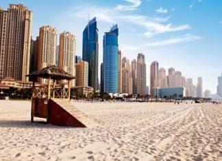 Пляж JBR в Дубаи
