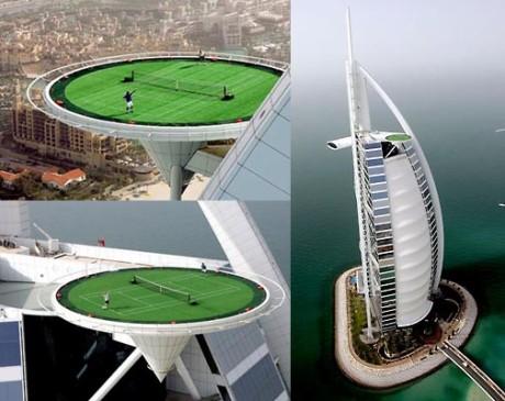 Отель Парус в Дубаи - единственный 7 звездочный отель