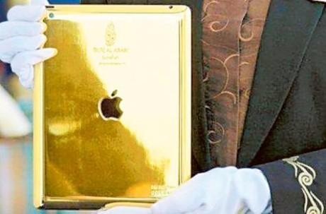 iPad в одном из отелей Дубаи