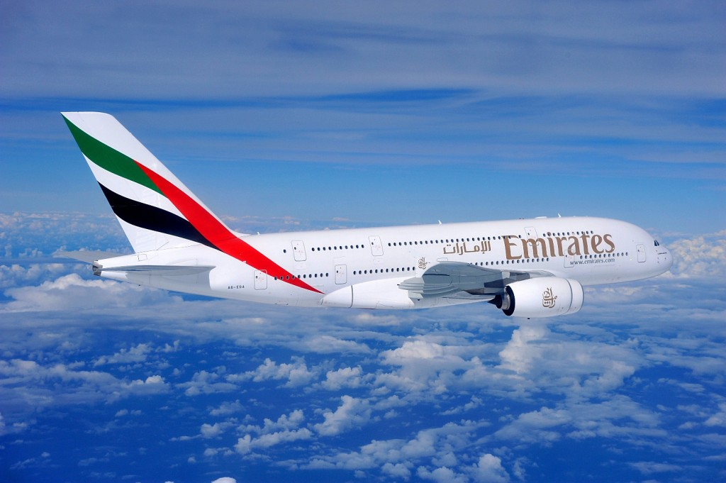 Авиакомпания Emirates из ОАЭ