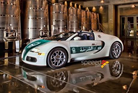 Полиция Дубая будет патрулировать улицы на самом быстром авто в мире