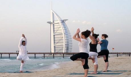 Оздоровление в арабском отеле Madinat Jumeirah