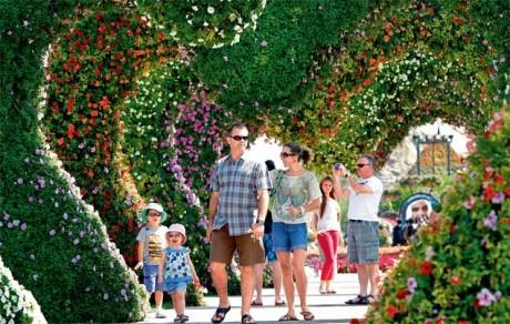 В Дубаи создается «исламский» ботанический сад