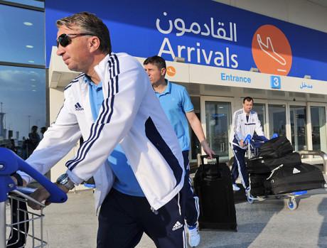 Футболисты московского «Динамо» прибыли на тренировочный сбор в Дубай