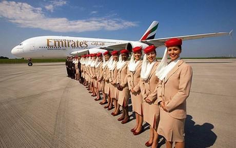Emirates закрывает рейс Киев-Дубай