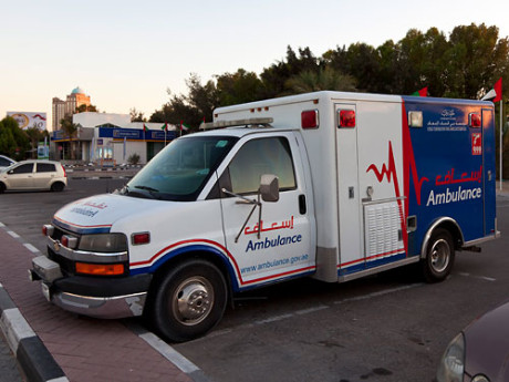 В Дубаи цвет машины скорой помощи будет зависеть от тяжести состояния больного