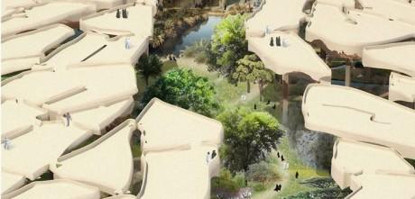 Новый невероятный парк в Дубаи (ОАЭ)