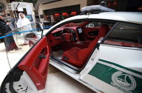 Bentley Continental GT в ОАЭ