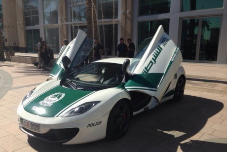 McLaren MP4-12C в ОАЭ: $240000