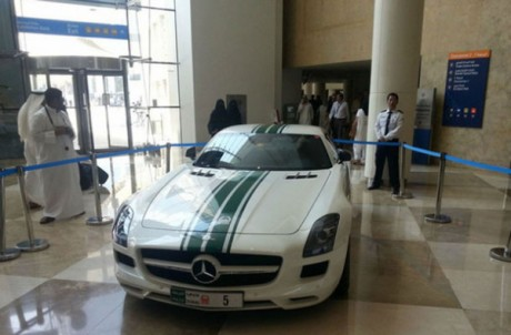 Mercedes Benz SLS AMG в ОАЭ: $200000