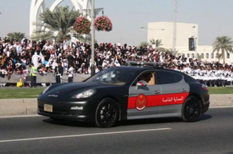 Porsche Panamera в Катаре: $175000