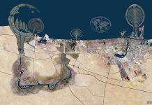 Дубаи из космоса