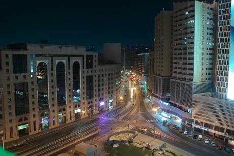 Вид на Nasser Square в Дубаи