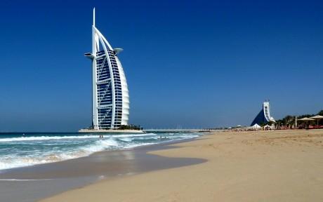 Пляж в Дубаи