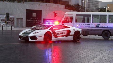 Полиция Дубаи - штрафы ПДД