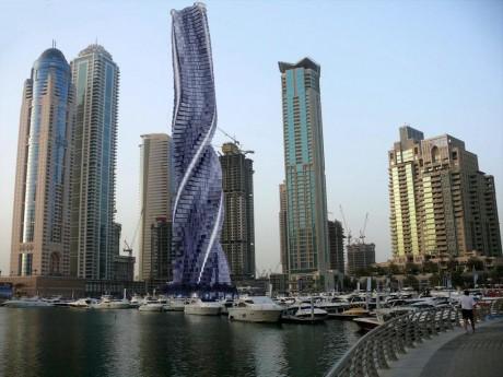 Вращающийся башня в Дубаи