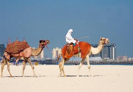 Дубаи в августе