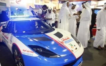 Скорая помощь в Дубаи обзавелась спорткарами