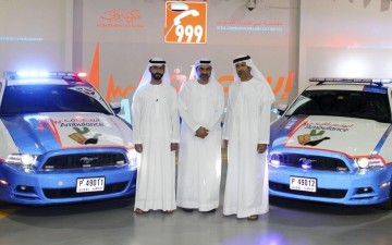 Скорая помощь в Дубаи расширяет автопарк