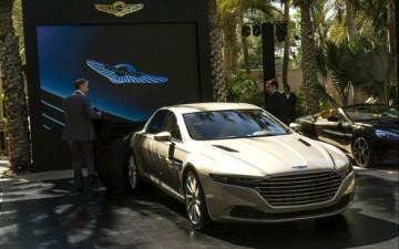 В Дубаи представили новый Aston Martin Lagonda