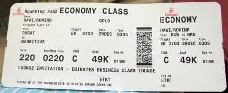 Билет на самолет Emirates