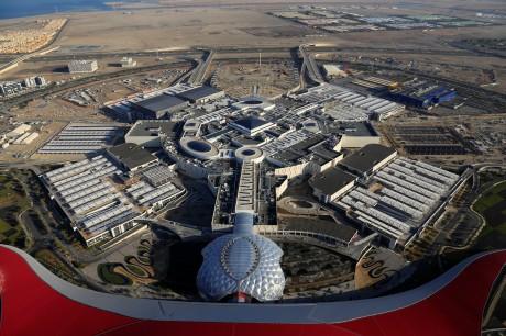 Yas Mall в Абу-Даби