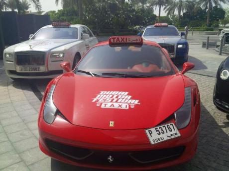 Такси Дубаи ОАЭ