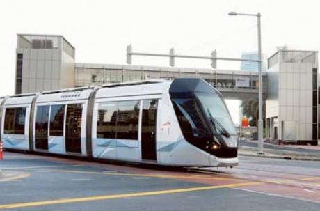 Трамвай в Дубаи