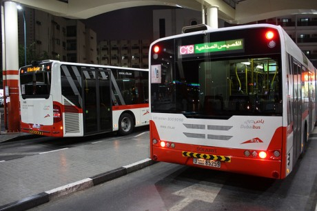 Автобусы Дубай