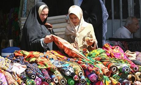 Рынок текстиля Дубаи