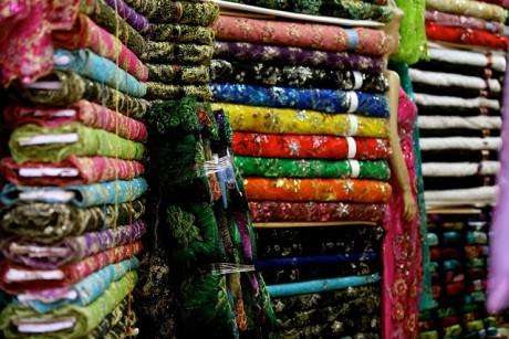Рынок текстиля в Дубаи