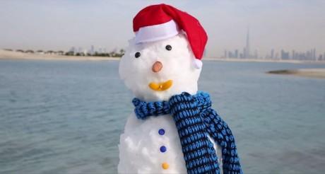 Снег Дубаи