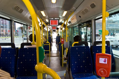 Маршрут автобусов в Дубаи