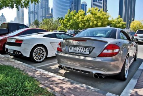 Парковки в Дубаи