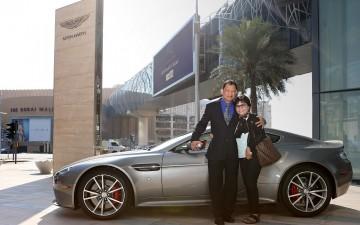 Гражданин Филиппин выиграл суперкар Aston Martin в Дубаи (ОАЭ)