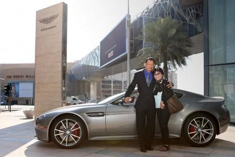 The Dubai Mall Aston Martin