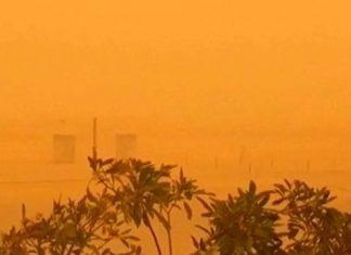 Песчаная буря Дубаи