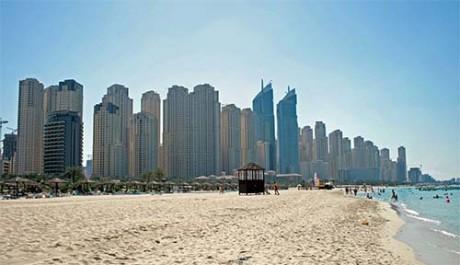 Туристы в Дубаи