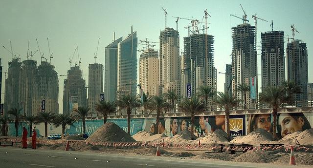 стройка в Дубае