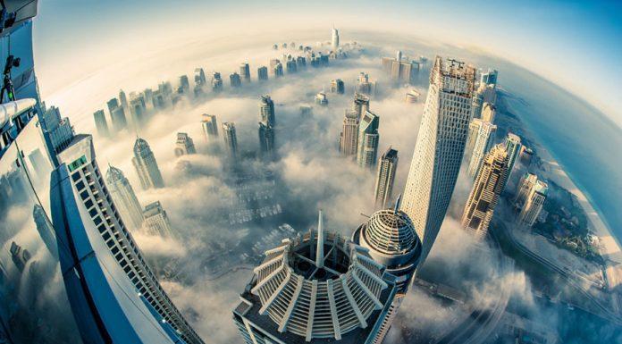 Дубаи в облаках