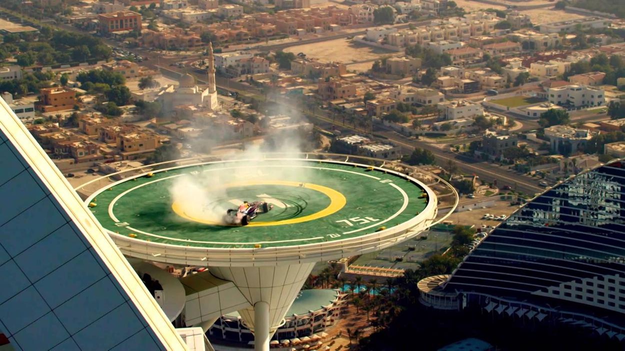 Формула-1 в Бурдж Аль Араб
