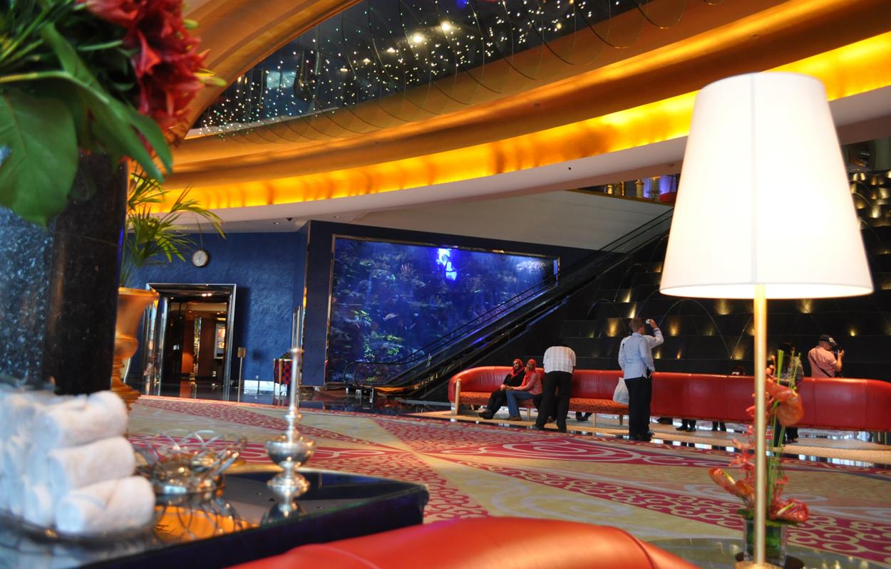 Отель Парус лобби отеля