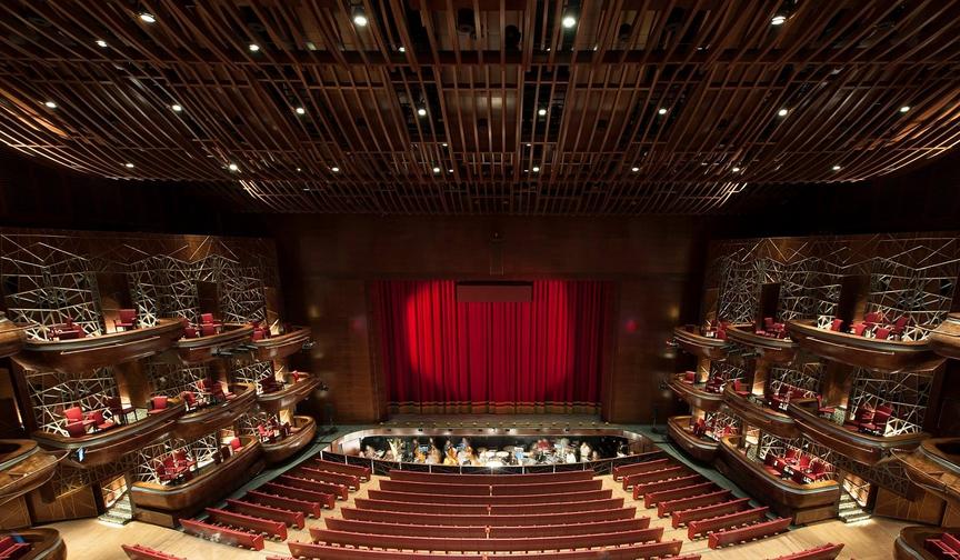 оперный театр в Дубаи
