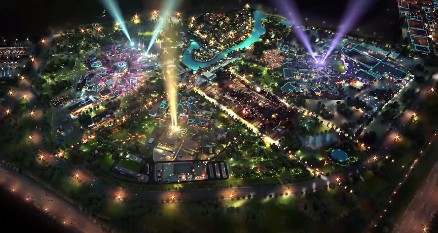 парк развлечений в Дубаи